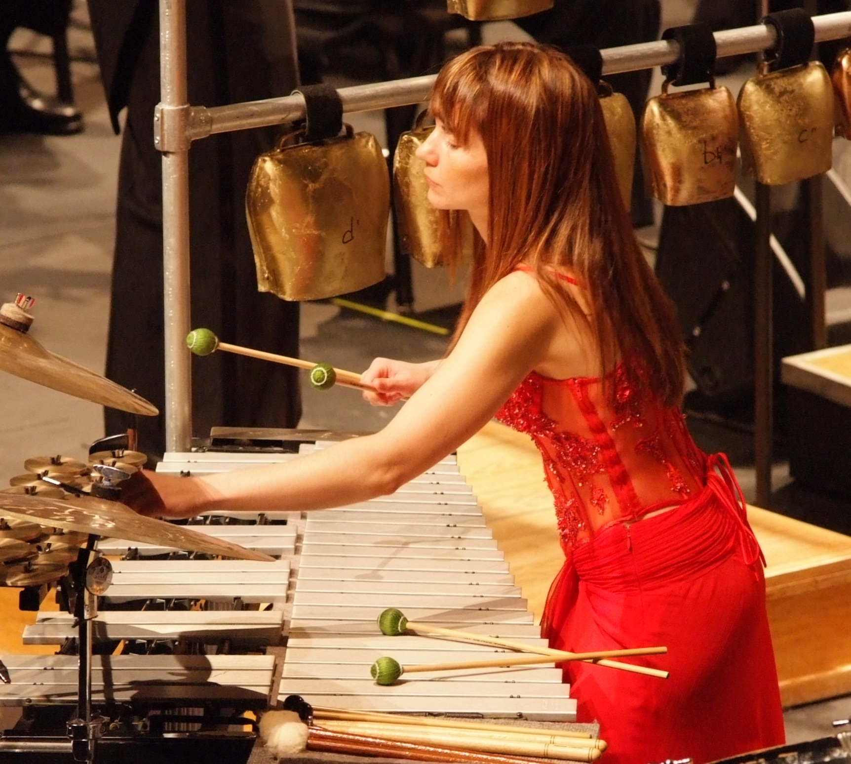 Percussionist Lisa Pegher At NYC's The Cell